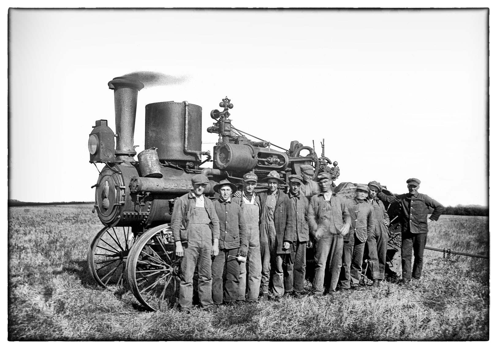 Big steam tractor/Wadena/MN/lifestyle photo