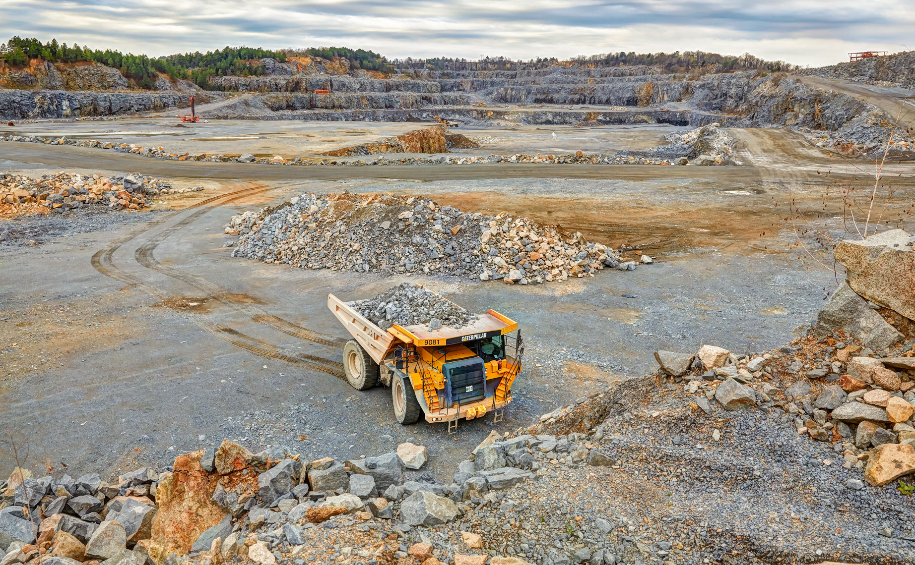 3M Ark Quarry/industrial location photography