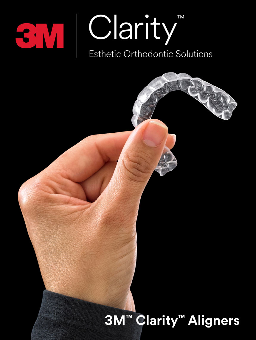 3M/clear braces/dental/product photography