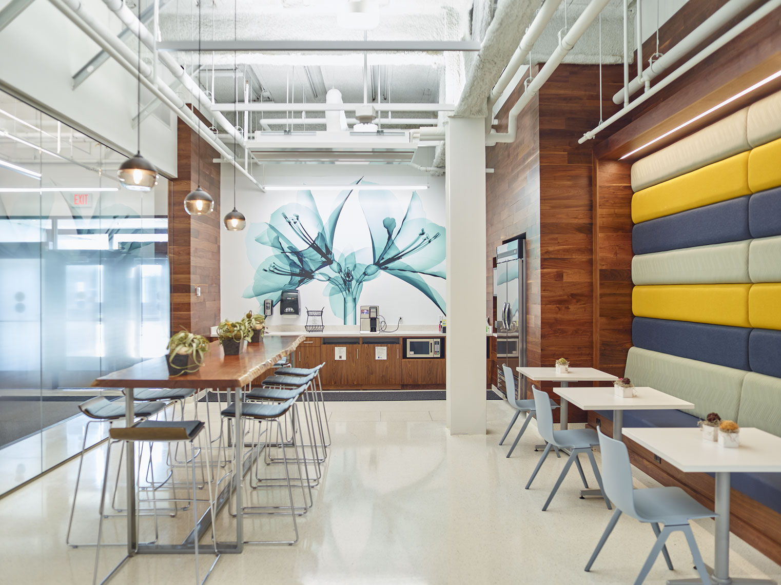 3M/office kitchen/architectural photograph