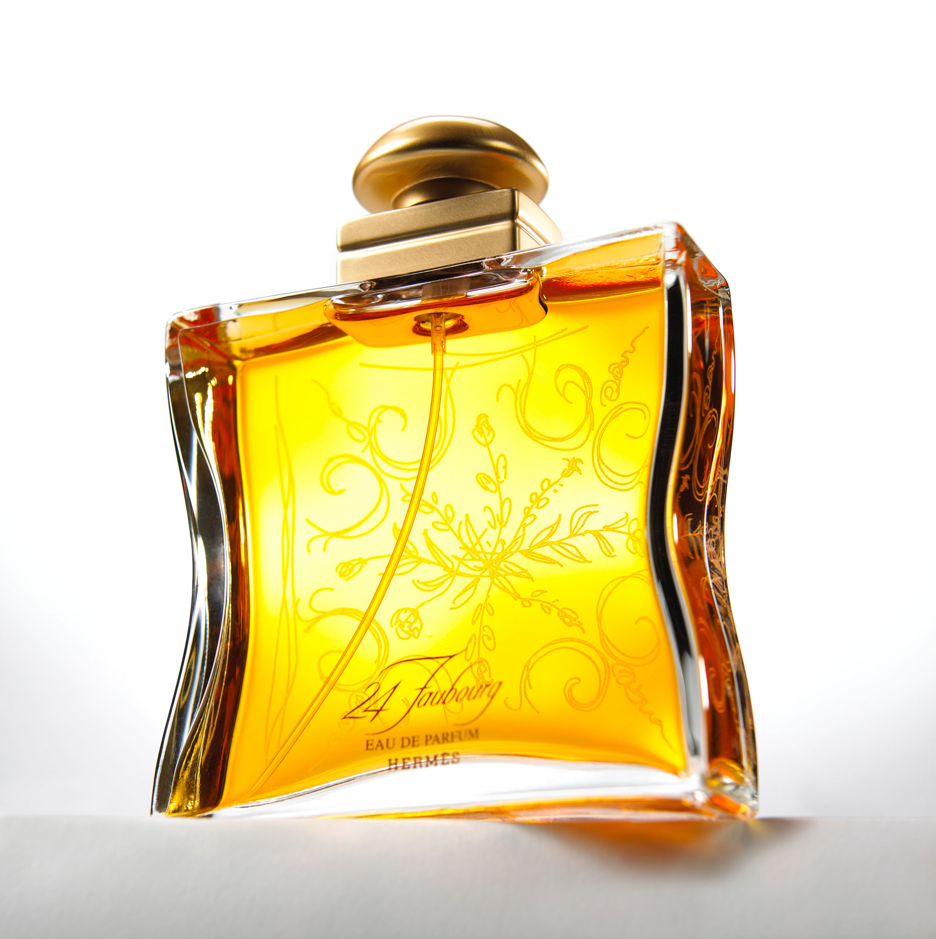 Bloom Hermes Cologne/product photography
