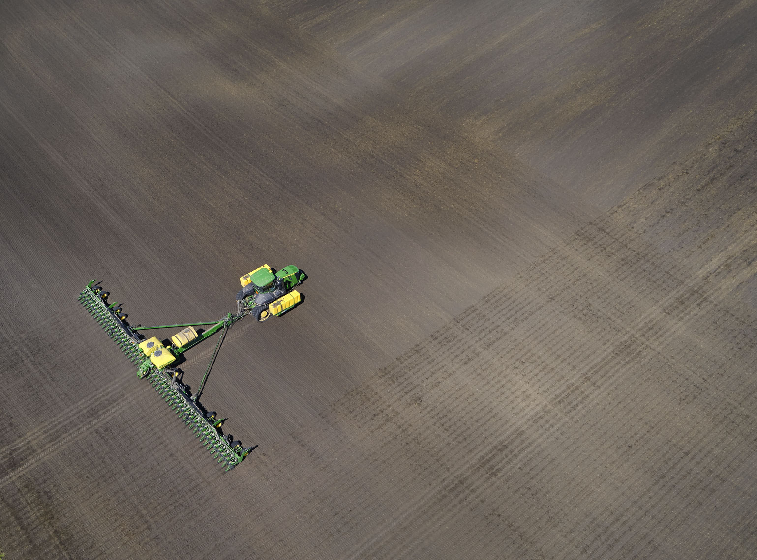 Drone/agricultural photography/farm equipment/InsideOut Studios