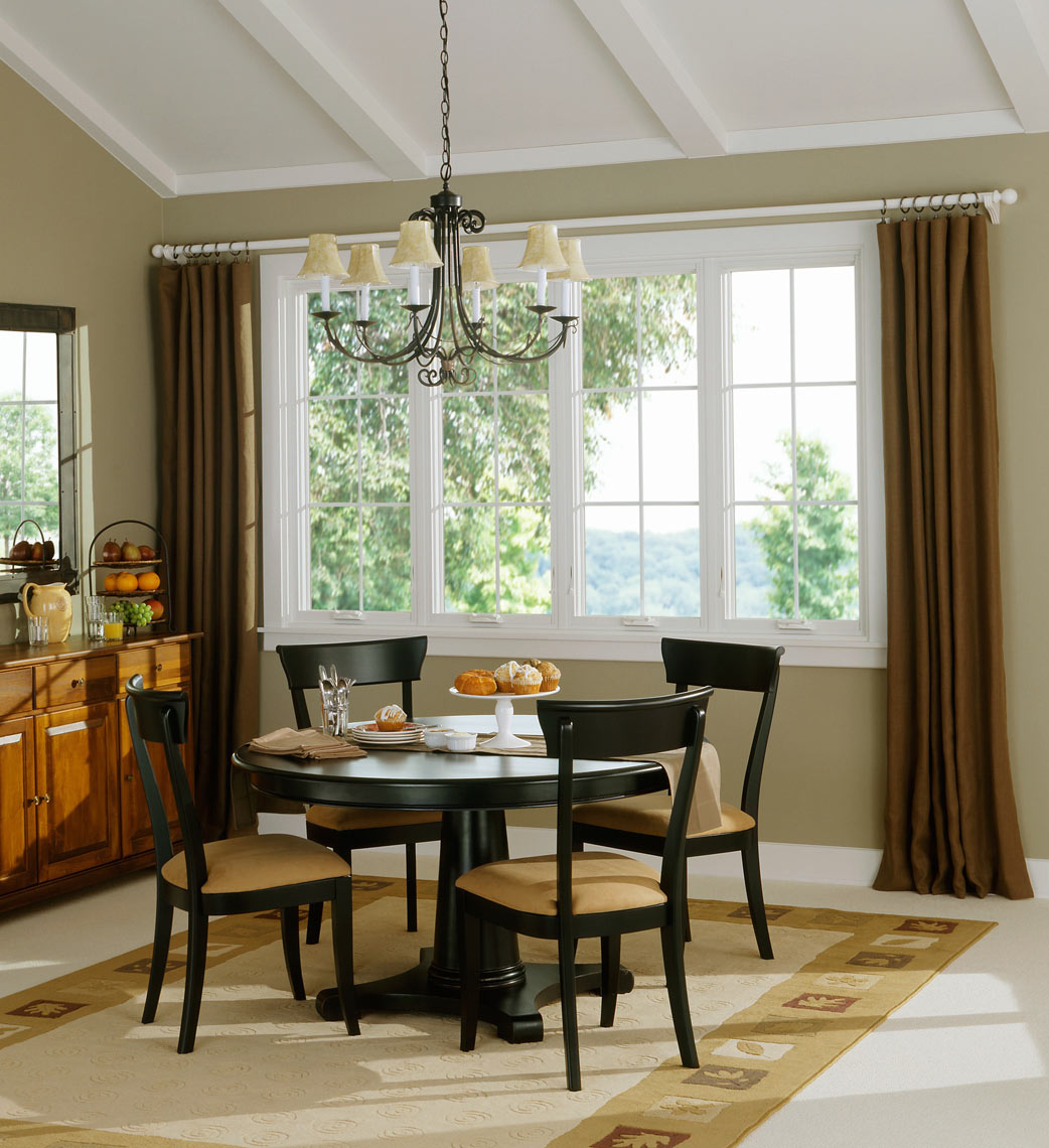 Dinning room/Marvin windows/studio set photography