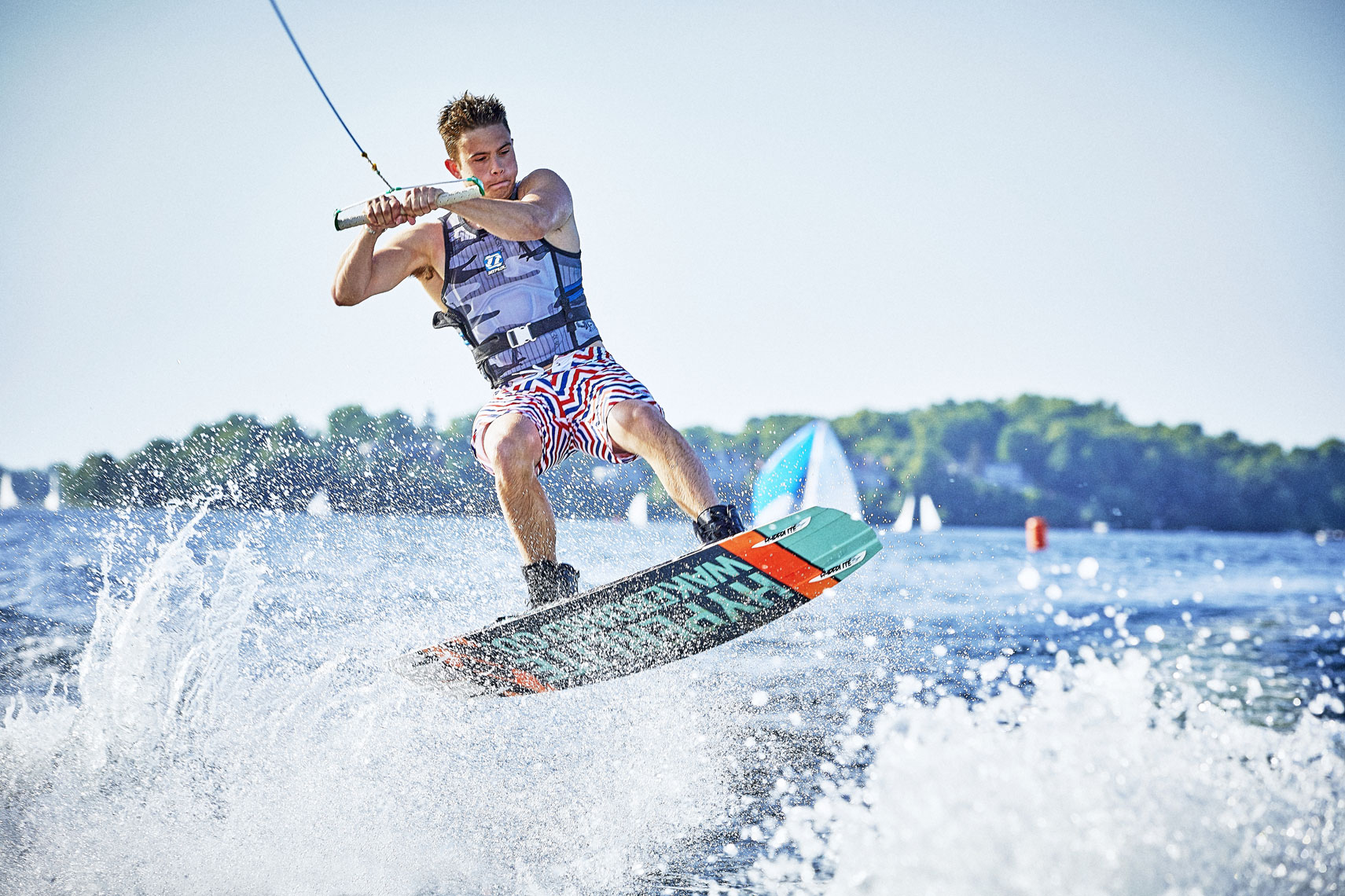 DryeSupply Shorts/man/wakeboarding/jumping/lifestyle photography