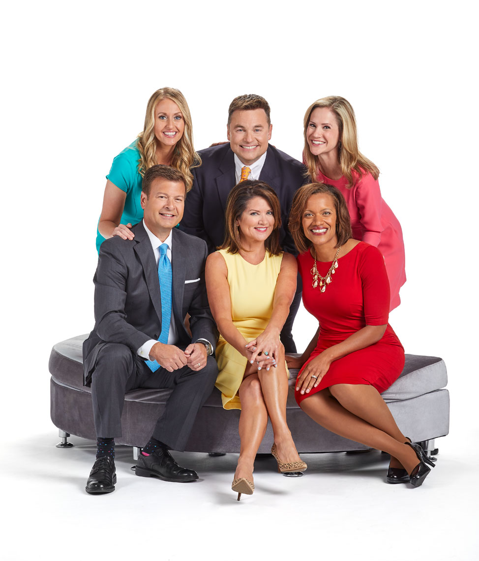Fox-9-news/crew/white background/daytime/group/lifestyle photography