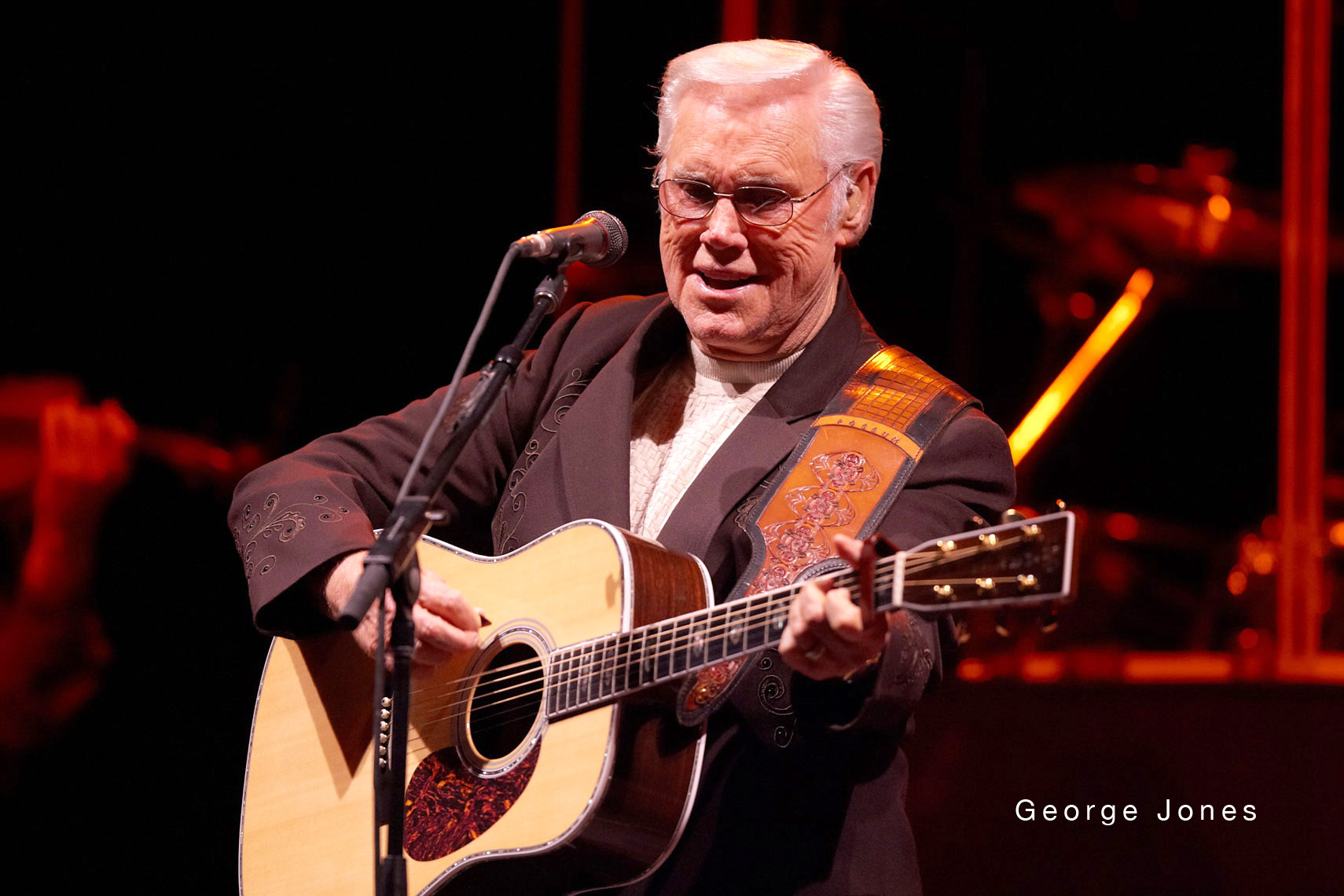 George Jones/concert/Mystic Lake Casino/lifestyle photo