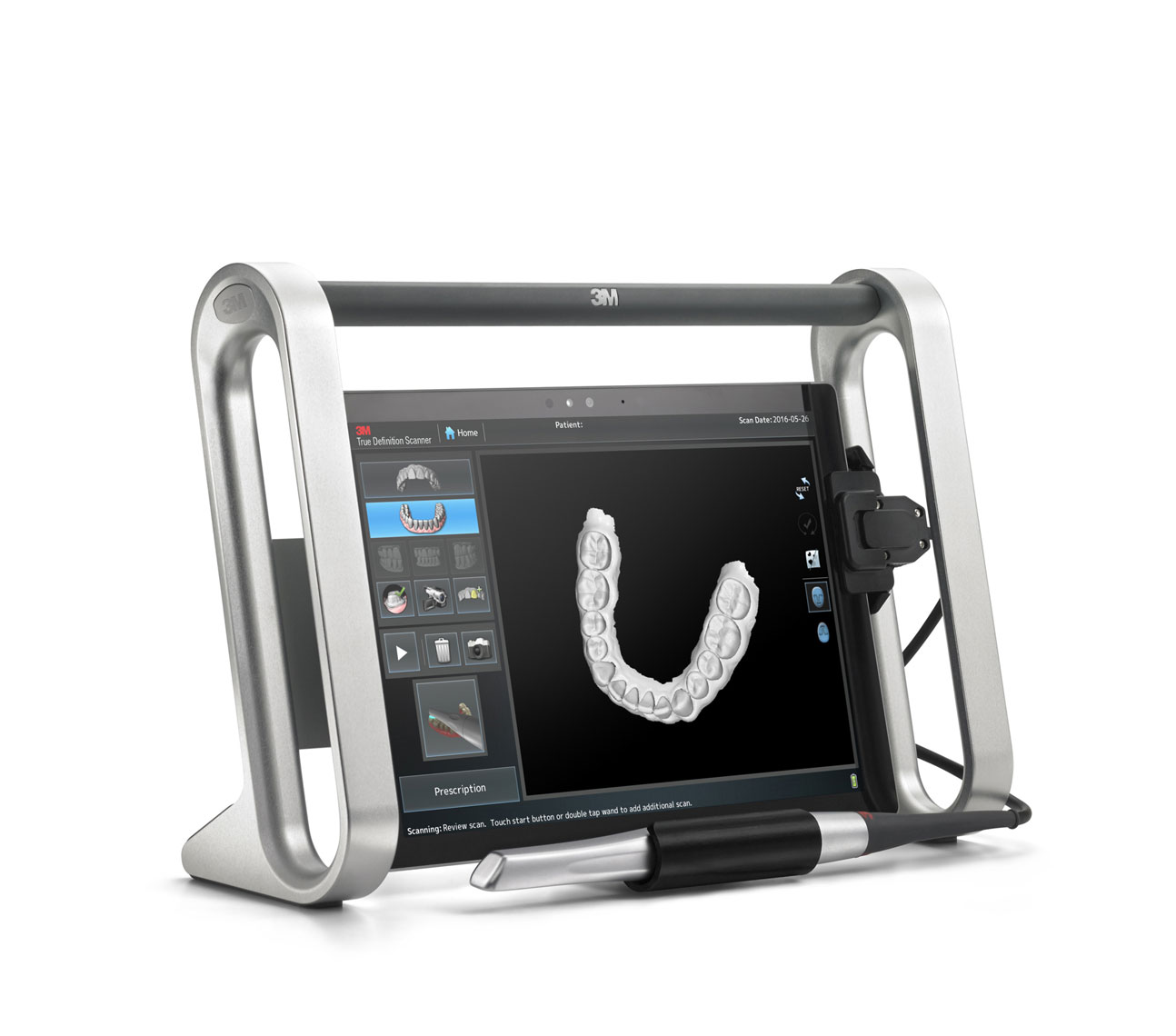 Teeth scanner/3M dental/product photography