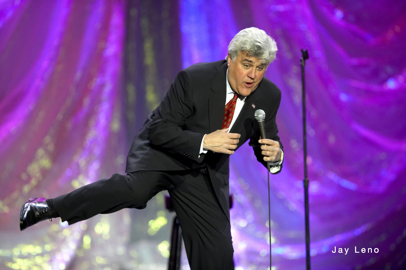 Jay Leno/Mystic Lake Casino/concert photo