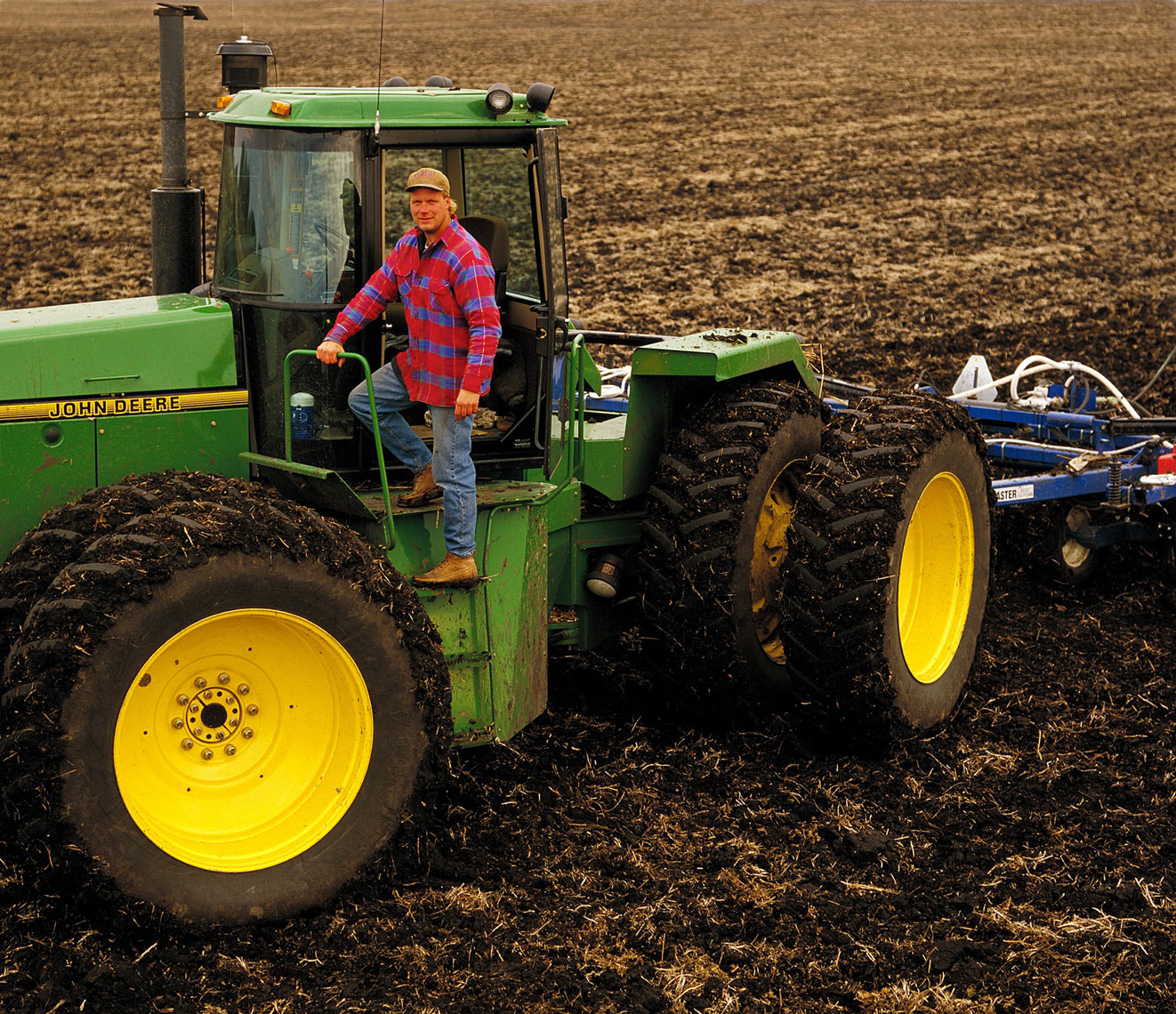 Location People Agriculture Farm equipment Lifestyle -Rick Peters