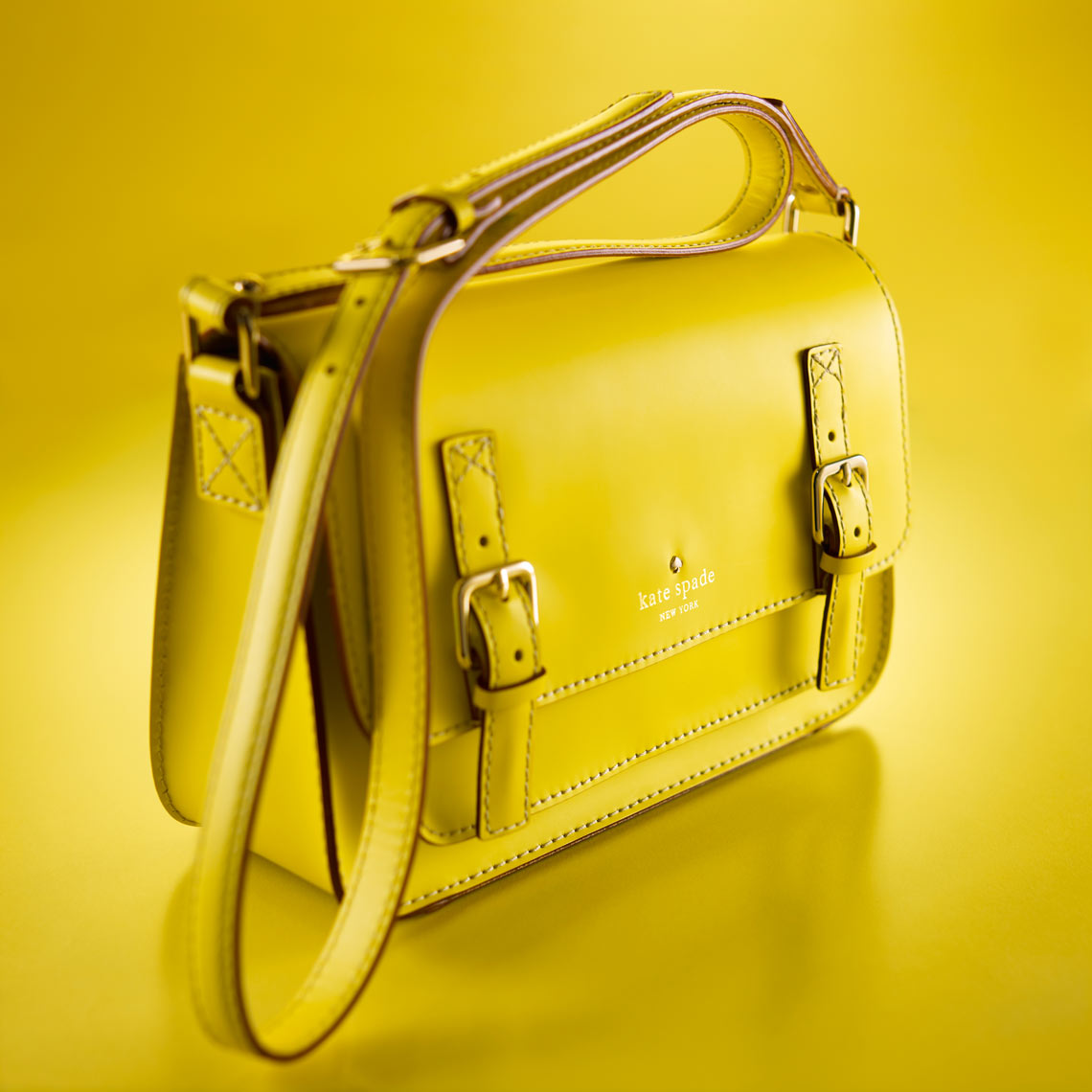 yellow/Kate Spade purse//product photo/InsideOut Studios