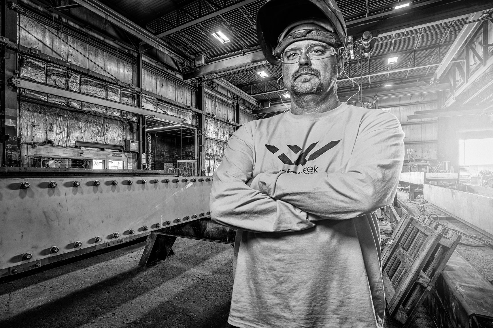 Lejeune/steel/worker/lifestyle photography