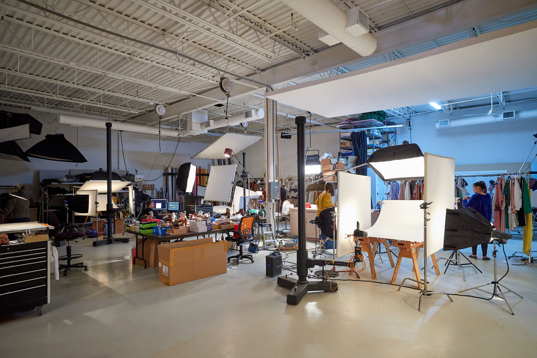 Mall Of America bts/studio photography/fall ads