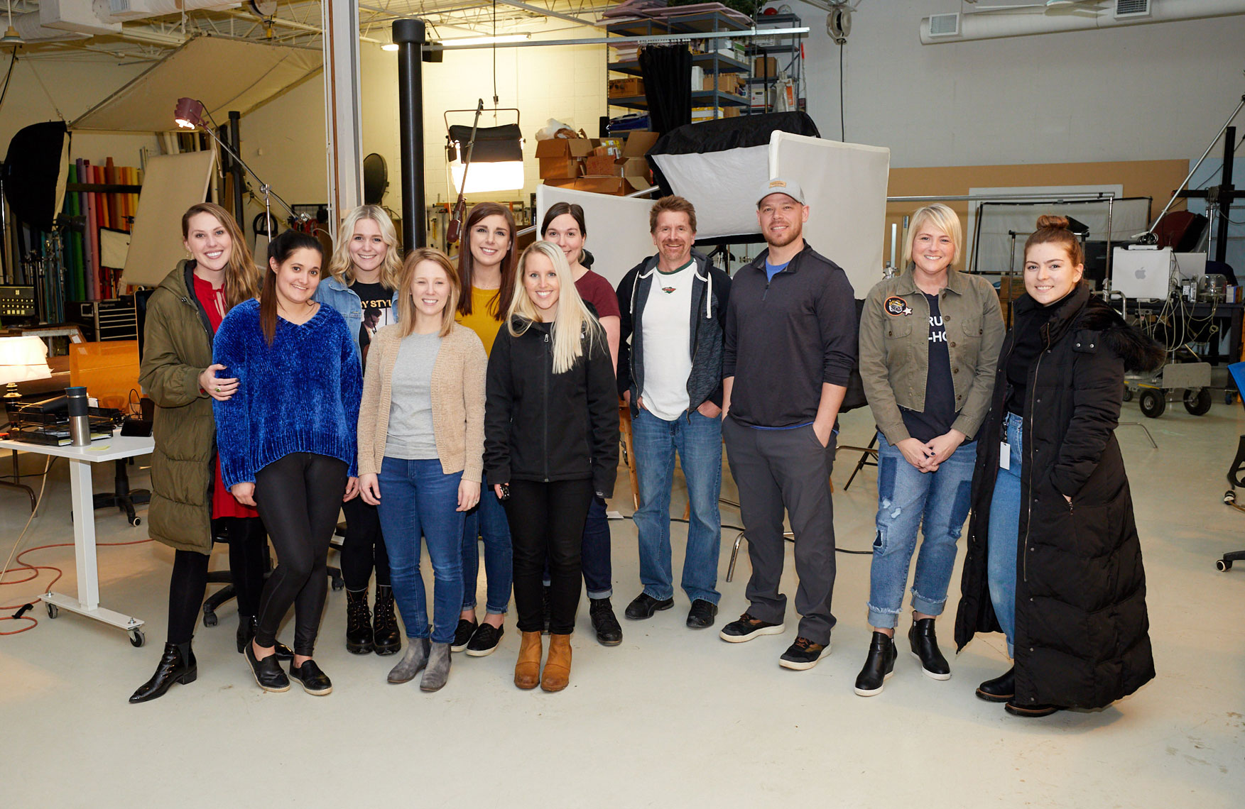 Group shot/Insideout studios crew and MOA group