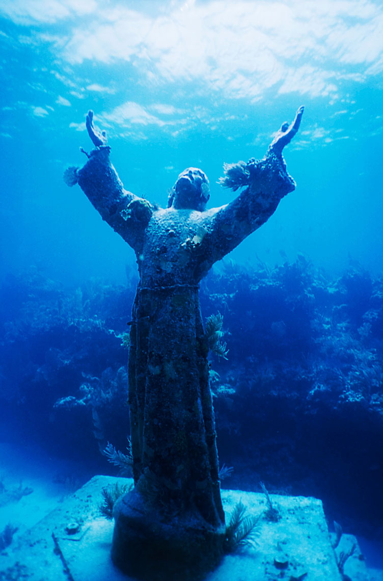 Christ Statue/Key Largo/Fl/underwater photography